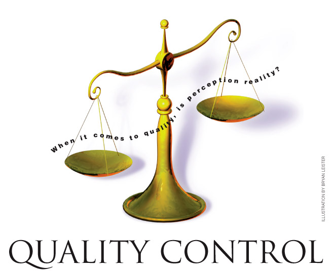 Quality Control Dashboard in Excel